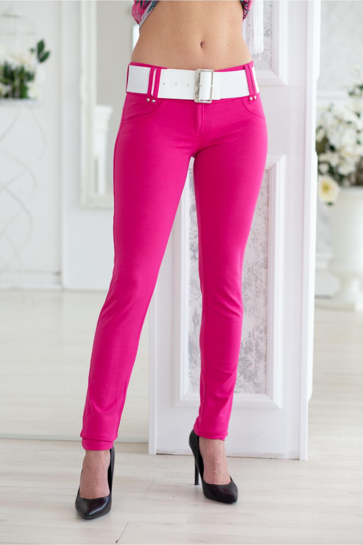 90b46d88a8 Öves puntó nadrág (elasztikus) - pink - Nadrágok, szoknyák - Blue ...