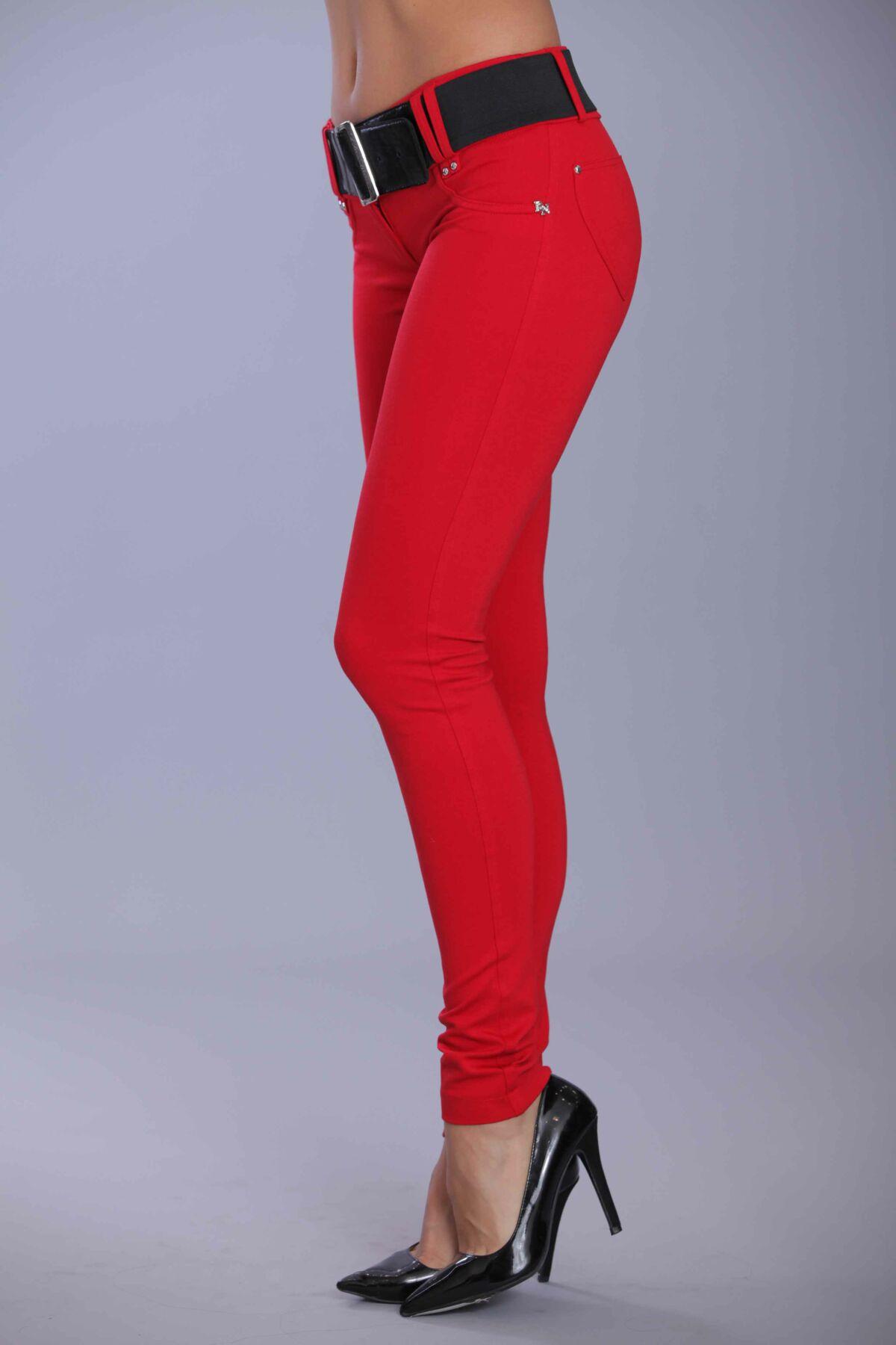 a5d4324c47 Öves puntó nadrág (elasztikus) piros - Blue Nature webshop