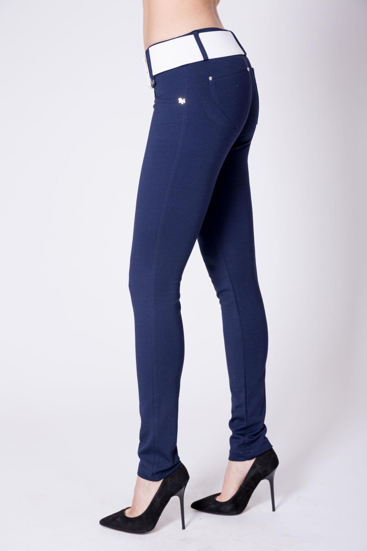 dc88b80d67 Öves puntó nadrág (elasztikus) - sötétkék - Nadrágok, szoknyák ...