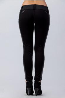 Bőrbetétes hátul íves nadrág