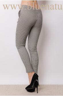 Elöl megkötős nadrág (elasztikus)  - NiNA - Aprókockás