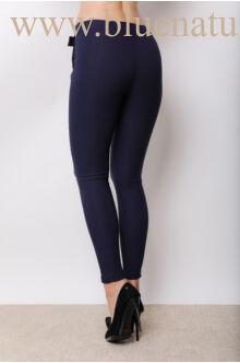 Elöl megkötős nadrág (elasztikus)  - NiNA - Sötétkék