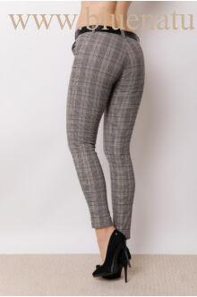 Öves bengalin nadrág (elasztikus) - ALINA - Kockás