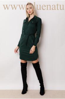 Három patentos Ing-ruha - Méregzöld