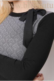 Masnis nyakú ruha - NADA - Szürke rombuszos