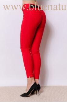 Bengalin Nadrág behúzottöves (elasztikus) - Piros