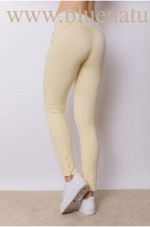 Puntó 4 cipzáras nadrág (elasztikus) - Sárga