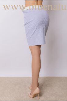 Zsebes szűk térd szoknya (elasztikus) - Alina - csíkos