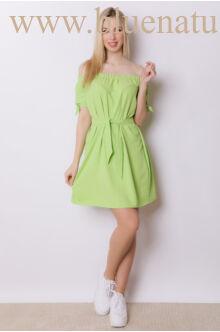 Derekán megkötős ruha - SOFI - Zöld
