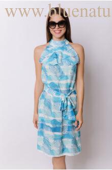 Elöl három fodros ruha - DINA - Leveles