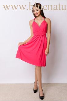 Fémdíszes rövid ruha - ADRIA - Pink