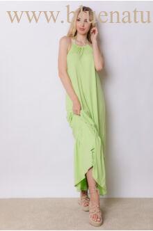 Nyakban megkötős maxi ruha - BEACH - Zöld