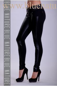 Elöl bőrös öves nadrág (elasztikus)