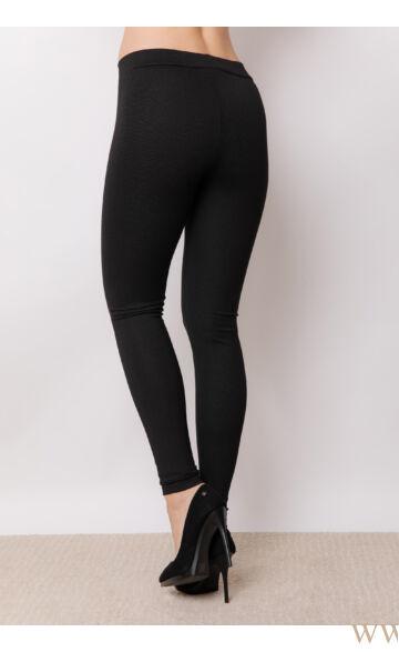 Leggings - Fekete