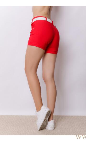 Bengalin Short (elasztikus) - ALINA - piros