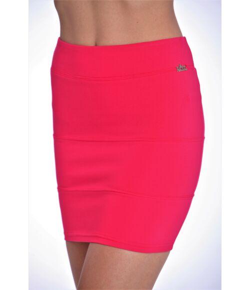 Darabolt miniszoknya (elasztikus) Pink