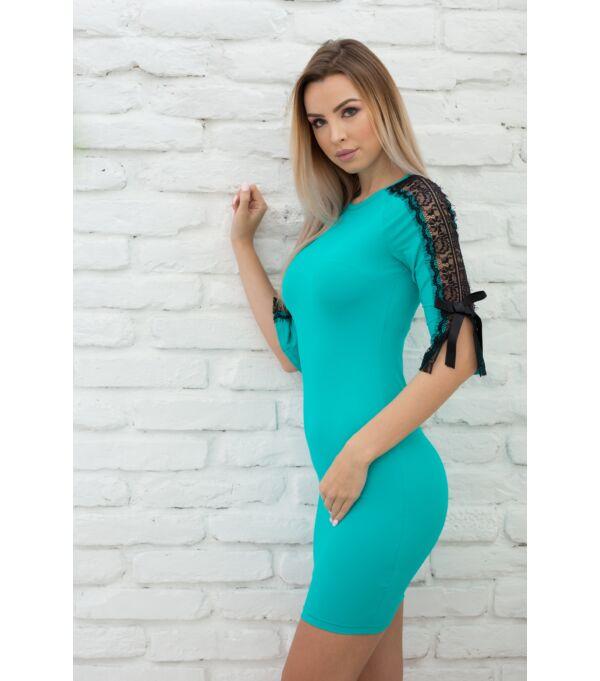 csipkes_ujju_ruha_türkiz_m_polett