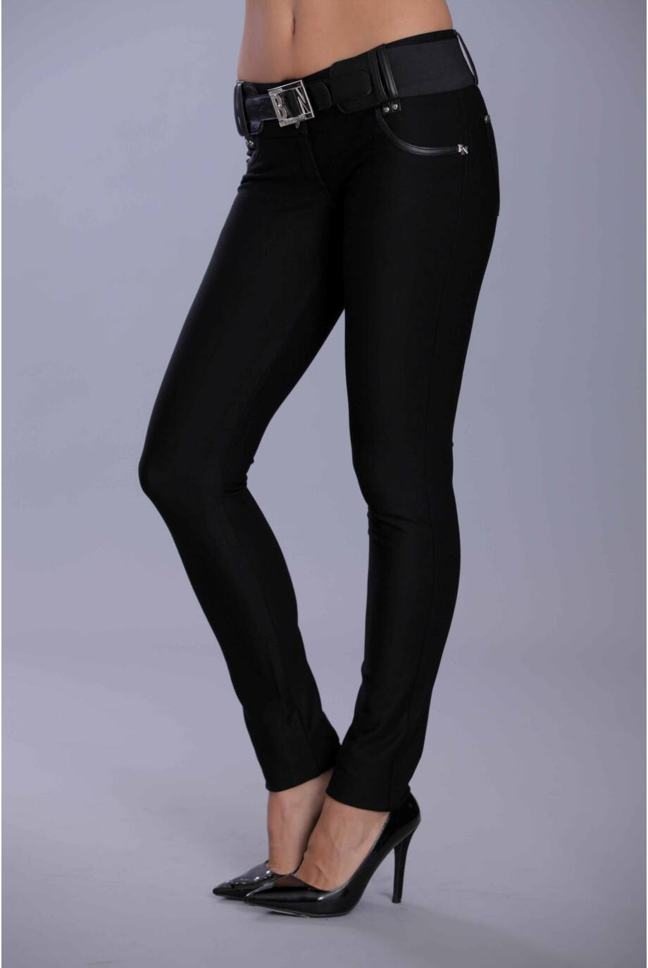 Bonita diagonál nadrág/fekete