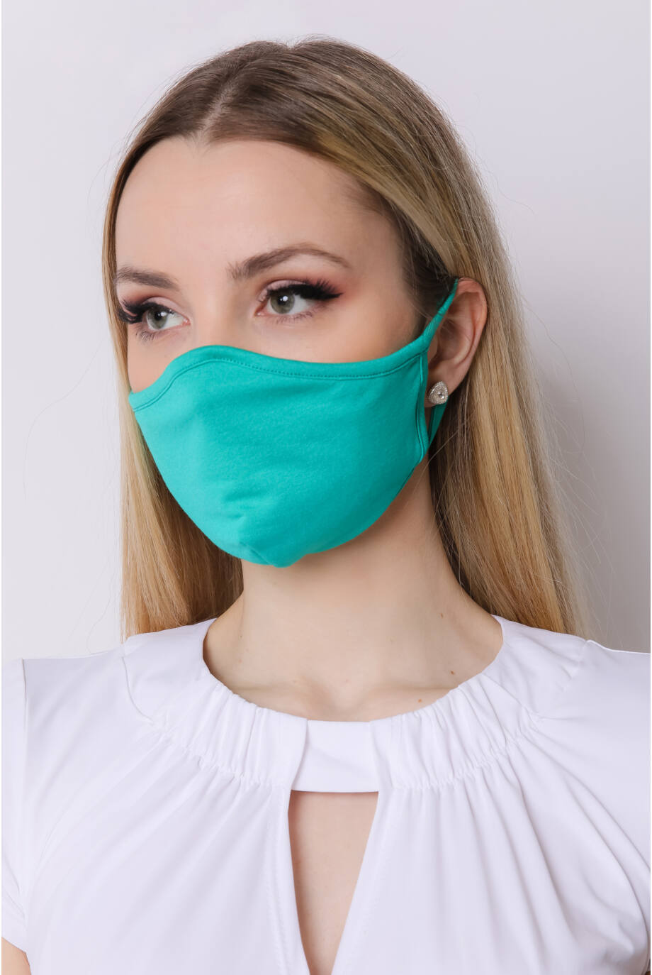 textil_egyszinu_szajmaszk_arcmaszk_zöld