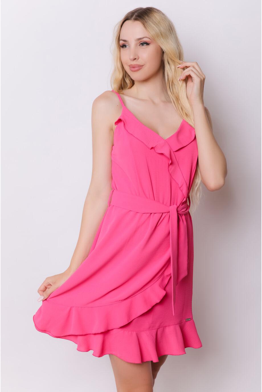 spagetti_pantos_fodros_ruha_pink_blue_nature